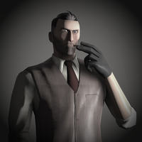 Spy Portrait Pale - Team Fortress 2 by DieKeksRebellion
