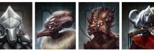 SotS 2: Zuul Portraits 2 by Chenthooran