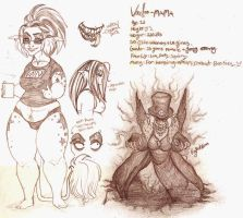 Voodoo-Mama Ref by Crazy-Voodoo-Lady