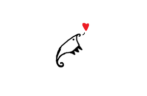 this anteater-looking thing loves you. by Helkie-three