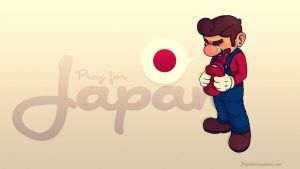 Pray for Japan by paperbeatsscissors