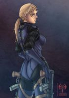 Jill Valentine (Battle Suit) by sarrus