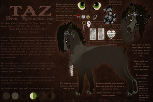 Taz Feral Reference 2012. by Serphire