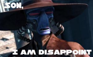 Son, I am disappoint by Doofapus