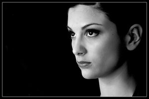 Thoughtful Portraiture in BW by sharq
