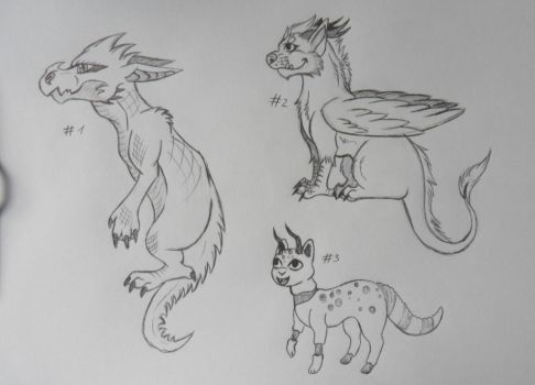 5 points Monster doodle adopts  closed by WinNinja