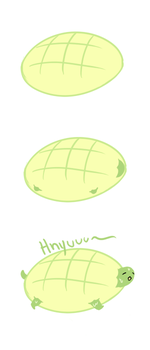 Melon turtle by Lazy-Legend