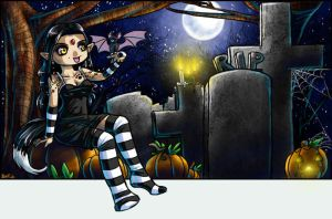 Graveyard Girl by zenia