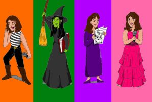 Idina and Friends by Creepyland