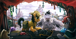 Commission 13 - Marketplace by The-Keyblade-Pony