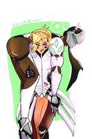 [Gency] I Need Healing! by The-AlleyCat