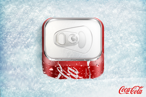 Coca-Cola Can Icon by 4Roy