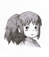 Chihiro Sketch by xMelodyHeartsx
