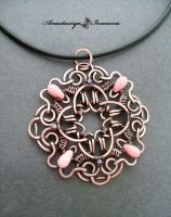pendant with coral by nastya-iv83