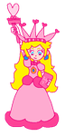 ~Princess Peach as the Statue of Liberty~ by PinkPrincessPeachy