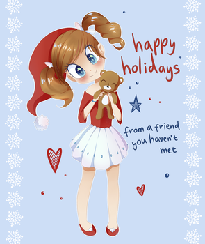 Holiday Card Project by PatchNpaw