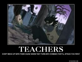 SOUL EATER-TEACHERS by DeathTheKid118
