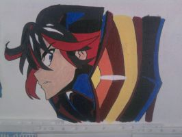 Ryuko matoi by kinglimary