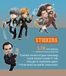 Commissions - Stickers by oneoftwo