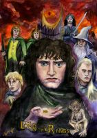 Lord of the rings by Le-ARi