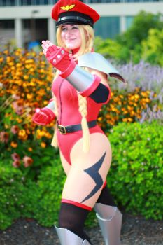 Otakon 2013 - Bison Cammy 2 by VideoGameStupid