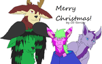 Merry Christmas by FriendlyMuttofDoom