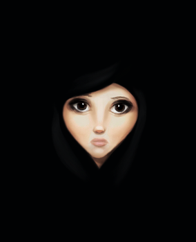 Quick Girl Portrait by CoreyGallagher