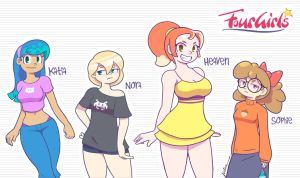 4Girls Revisited by Furboz
