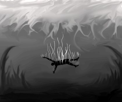 Falling into the deep by VikingKnight95