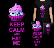 KEEP CALM AND EAT ME by TheFlyinFerret
