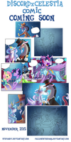 Discord x Celestia Comic Coming Soon! by FallenInTheDark