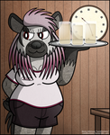 Big Badger Barmaid Bedelia by LordDominic