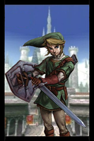 Link Human iPhone Lock Screen by gameover89