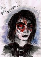 Gerard Way Revenge Era by moonatomic