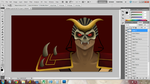 Shao Kahn - WiP by pureasperfection