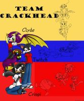 Team Crackhead by chaoticdreamer