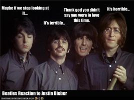 The BEATLES REACTION TO JB by brewe