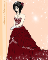 Mikasa's ball dress by Unless-YOU-FIGHT