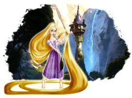 Tangled Again by Honey-Lady-Bee