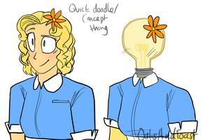 Quick Mary Concept Thing by OatsAndToast