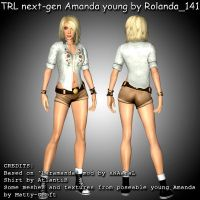 TRL next-gen Amanda young mod by HailSatana