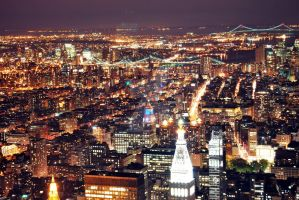 New York from Empire 2 by dumantk