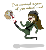And I Can Survive Another! by TheGreatWarrior