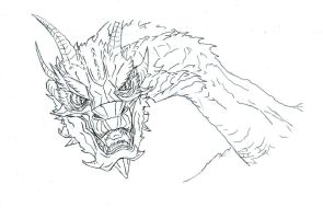 Smaug The Terrible by Bitex93