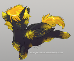 Black and Yellow by nekophoenix