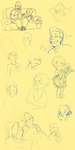 TS: loads of simpsons by Puffintalk