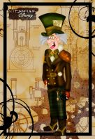 Steampunk Mad Hatter by HelleeTitch