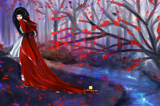 Red Riding Hood by juv3nil