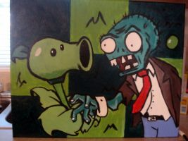 Plants vs. Zombies by SymbolicSin