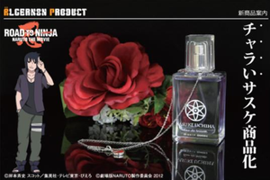 Naruto road to ninja sasuke perfume by SAKURATEFF